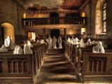 Kísértetek töltötték meg a sorokat Csehországban