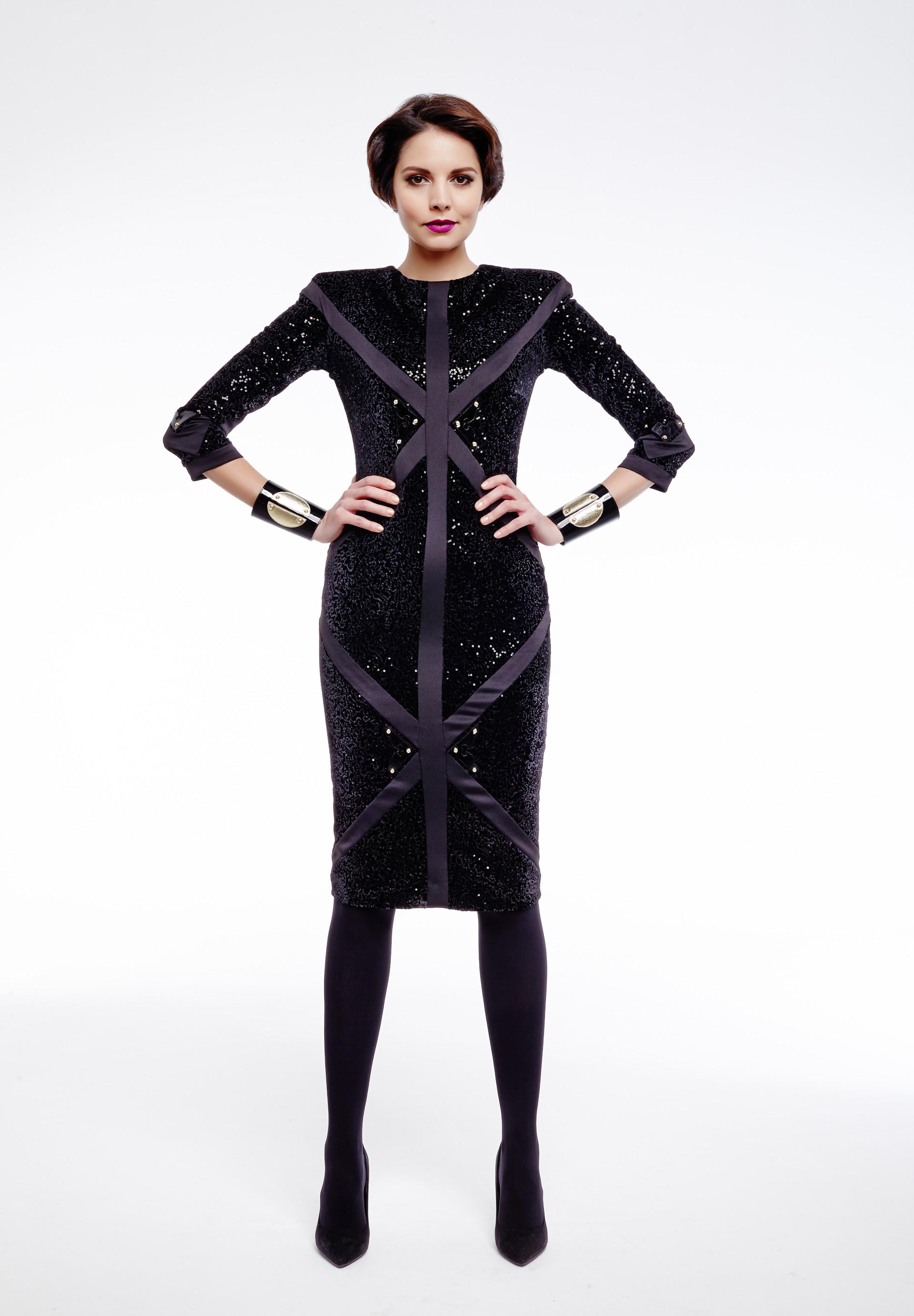 Fekete ruha : Maison Marquise