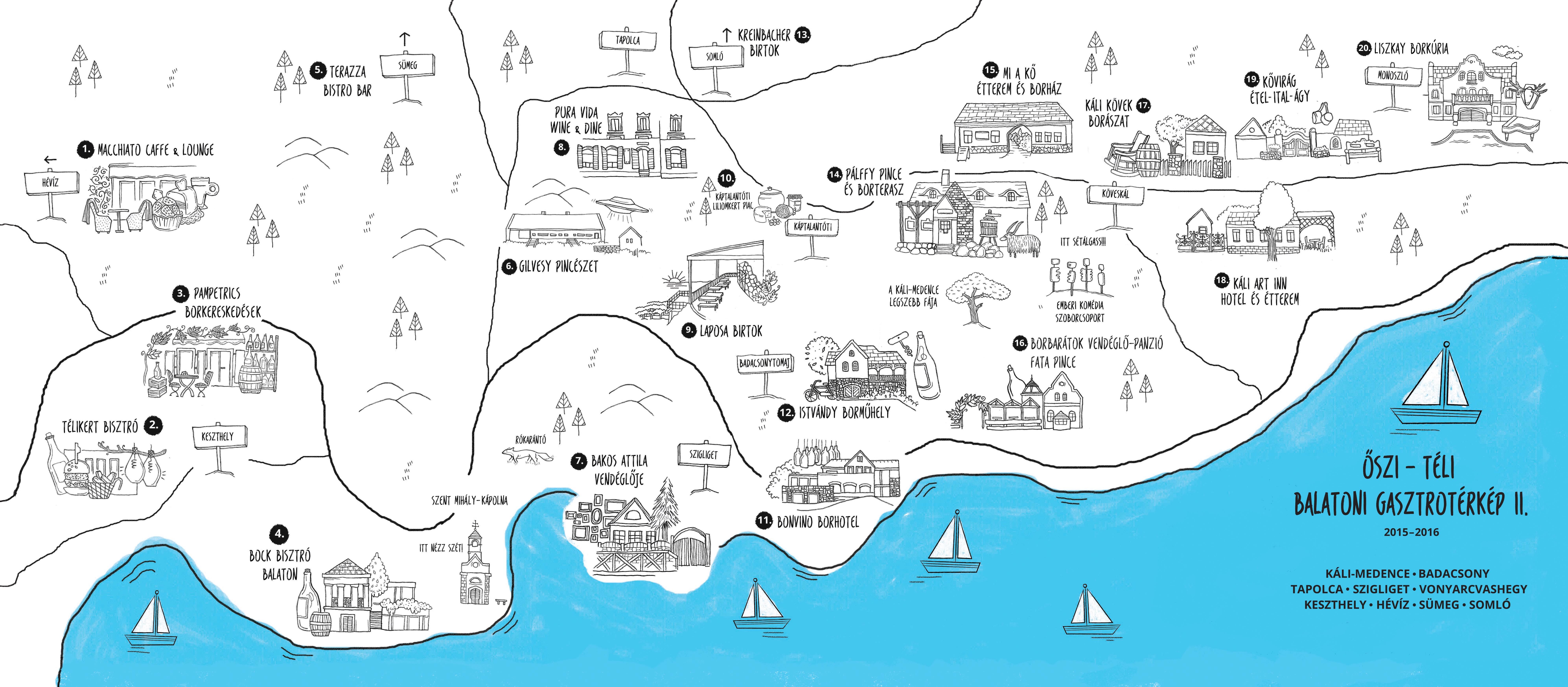 balaton térkép garmin Télen nyáron a Balaton szerelmese – interjú Szauer Judit gasztro  balaton térkép garmin