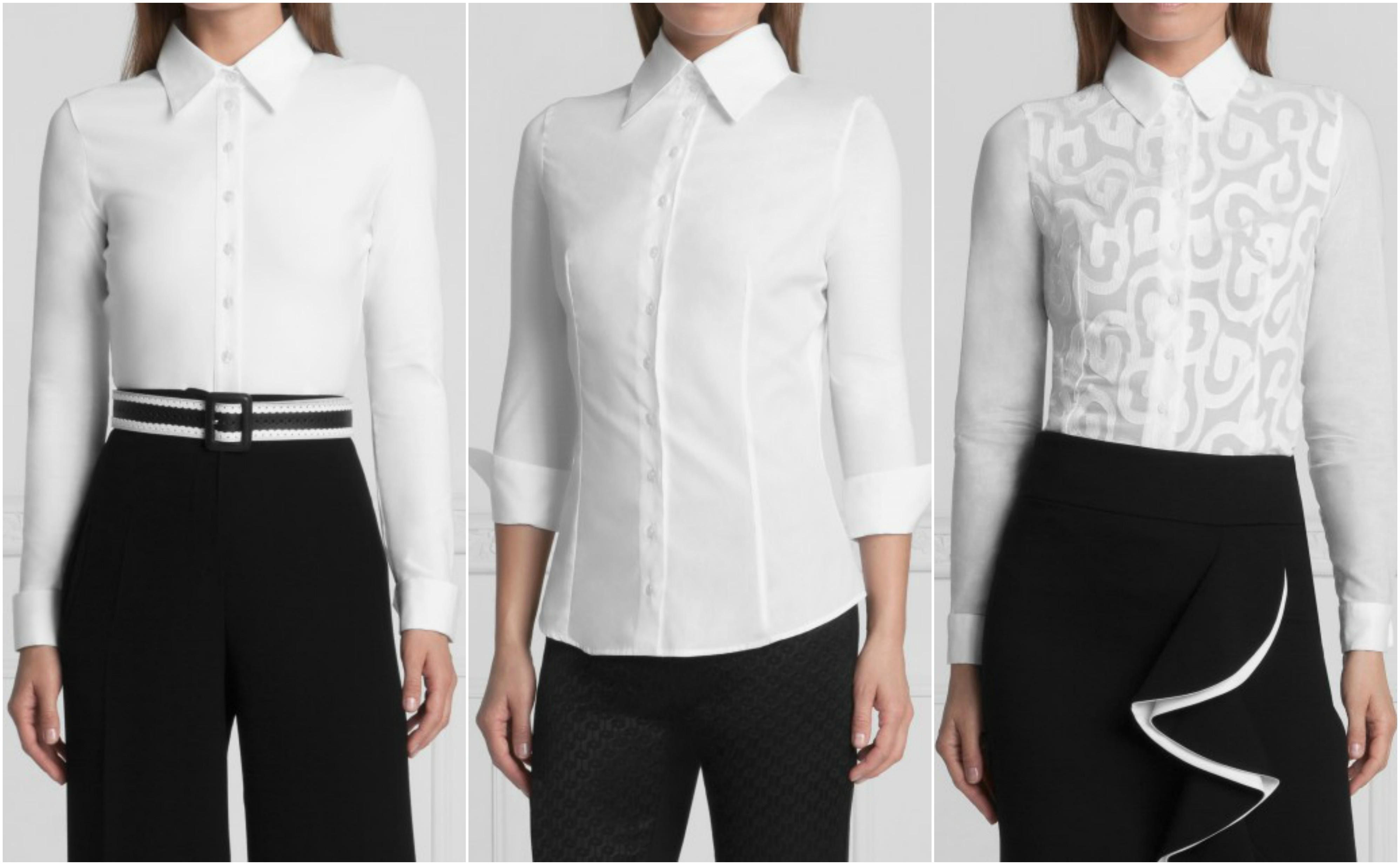 Az női ingek általában karakteres férfiingekhez hasonló gallérral  készülnek. Anyaghasználatuk is hasonló 06e8979635