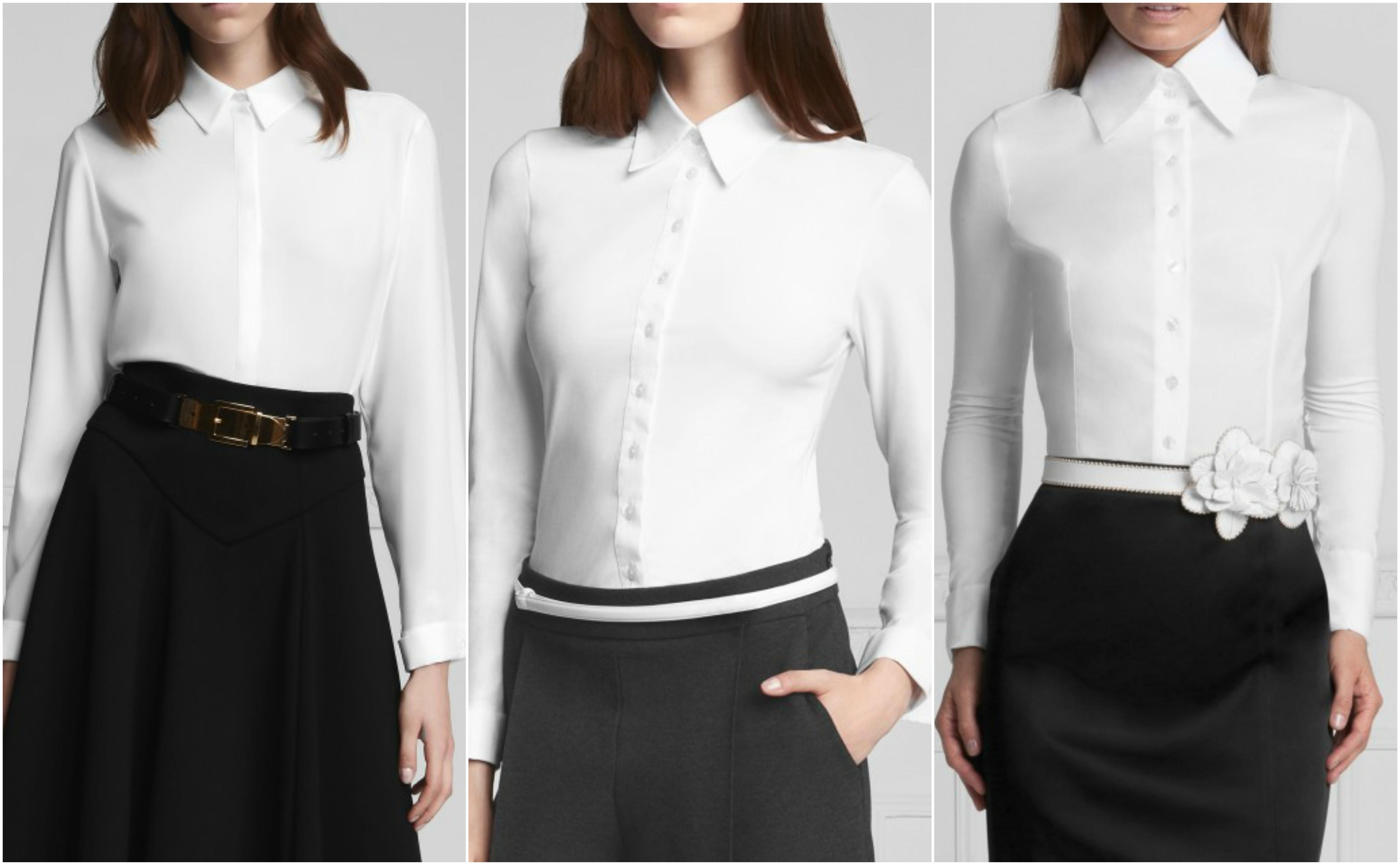 A női blúz az inggel szemben nagyon sokféle megjelenési formát ölthet. 949b494aaa