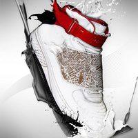 Folyékony Nike photoshoppal