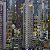 Az iparosodás építészete Michael Wolf lencséjén át