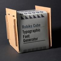 Rubik font generátor