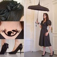 Egy nőies francia összeállítás
