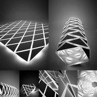 Térbeli világítás kreatív formációkban