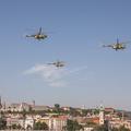 Augusztus 20 - Légi díszelgés Budapest felett