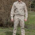 Az orosz hadsereg Szíriában viselt sivatagi ruházata (zubbony)