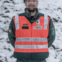 NAV járőr felszerelése: Fényvisszaverő mellény