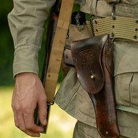 M1916 pisztolytok és M1923 pisztoly tárzseb