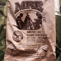 MRE Menu 20 Pork Sausage In Cream Gravy