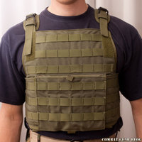 PANTAC Molle style plate carrier with cummerbund