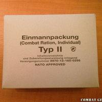 Német harci fejadag (Einmannpackung Typ. II)