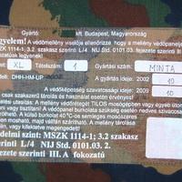 Fragmentumok a magyar védőmellény-gyártás (h)őskorából