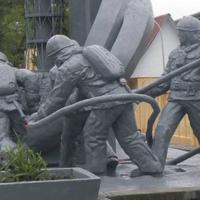 A csernobili tűzoltók védőfelszerelései