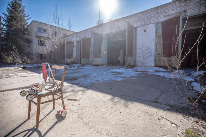 Napjainkban a pripyati őrs már üres.