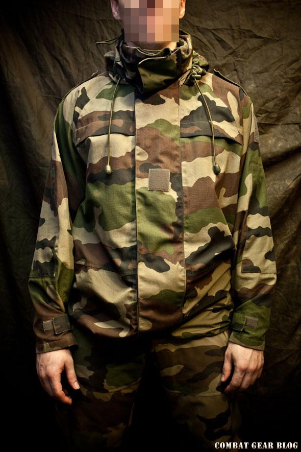 127d9bb8d8 Az 1990-es években a legtöbb nyugati hadsereg megkezdte, a gore-tex anyagú  kabátok rendszeresítését. Európában a francia hadsereg az egyik  legerősebbnek és ...