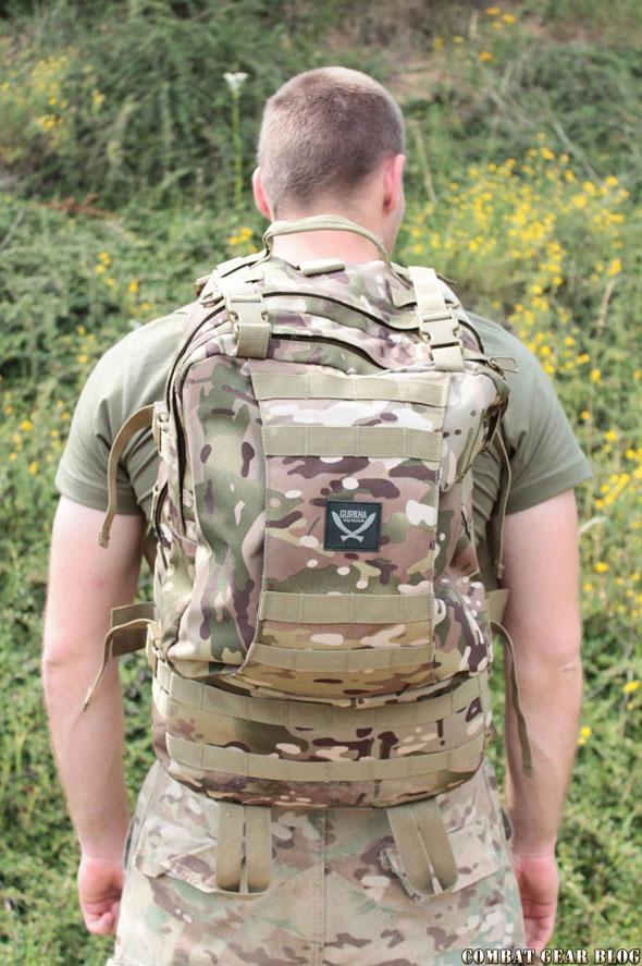 ed4908749d Gurkha Molle II nagy zsák - Combat Gear Blog