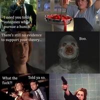 Minden X-akták epizód ugyanolyan volt