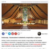 A Blikk templomban maszturbáló menekültekkel riogat