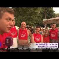 Hétfőn dől el a Bajai Halfőző Fesztivál kapatos riporterének sorsa