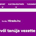 Az MTVA korábbi programigazgatójával járatnák le Vonát