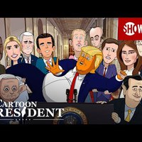 Stephen Colbert pojácát csinál Trumpból