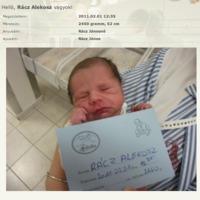 Breaking: megszületett Rácz Alekosz