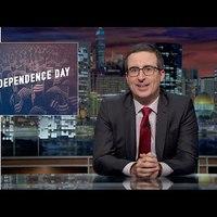 Jon Oliver szerint az amerikaiak sokat buktak a függetlenséggel