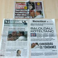 A Habony-művek egy pillanatig sem titkolja, hogy nem sajtó, hanem kormánypropaganda