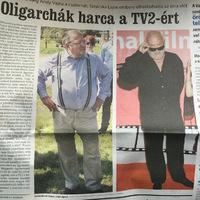 Majdnem minden sajtótermék beszámolt a TV2-botrányról