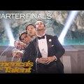 Kiakasztotta az America's Got Talent zsűrijét a vízköpő-kvintett