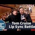 Lip sync battle: Fallon vs. Cruise