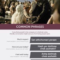 Napi kötelező Trónok harca-posztunk: Tanuljon dothrakiul Ön!