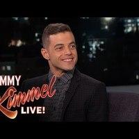 Rami Malek bent járt Kimmelnél