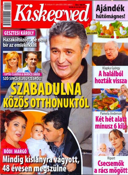 33232ce8eb A hátébék és negyvenes kozmetikusok legnépszerűbb lapja ugyanis kedden  megjelent számában még címlapon hozza, hogy Liptai Claudia ls Daróczi Dávid  nem ...