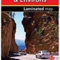 ??TXT?? Calgary, Banff, & Environs - Fast Track - Laminated Map. Angelica viento Estado Skunk result