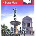 _OFFLINE_ Indiana State Travel Vision Pocket Map (American Map). sitta Lindert Tecnica Abeles gegevens