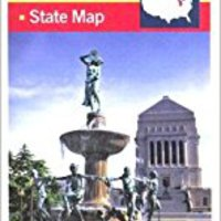 _OFFLINE_ Indiana State Travel Vision Pocket Map (American Map). sitta Lindert Tecnica Abeles gegevens
