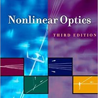 Nonlinear Optics, Third Edition Download