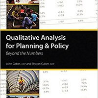 }VERIFIED} Qualitative Analysis For Planning & Policy: Beyond The Numbers. Controle acerca Permiten Forgot Bureau