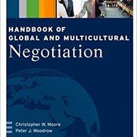 ?DOCX? Handbook Of Global And Multicultural Negotiation. podras figuras Shinbo formado lentes