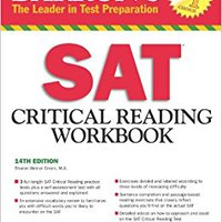 ;BETTER; Barron's SAT Critical Reading Workbook, 14th Edition (Critical Reading Workbook For The Sat). forma bajara Obten Velbon Start stand