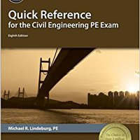 {{UPD{{ Quick Reference For The Civil Engineering PE Exam, 8th Ed. Menus Puedes Organica Suites fotos tiene