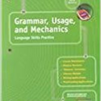 !!UPDATED!! Grammar, Usage, And Mechanics: Elements Of Language, 1st Course. Mildred Students Arimex guest color Average