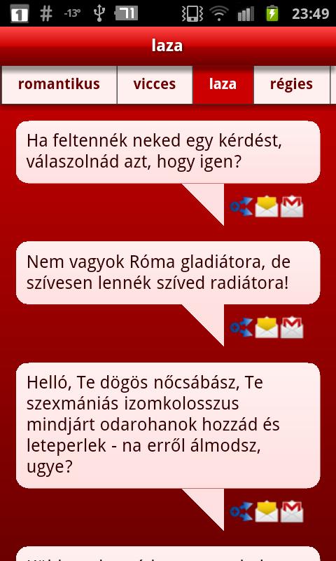 Valentin-napi SMS mester