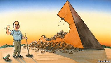 Egyiptomi piramisjáték – végzetes tétekkel
