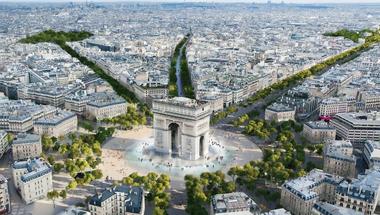 Zöld útra lép a világ egyik legdrágább utcája, mert a franciák már irtóznak tőle