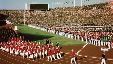 1964 – Az első tokiói olimpia