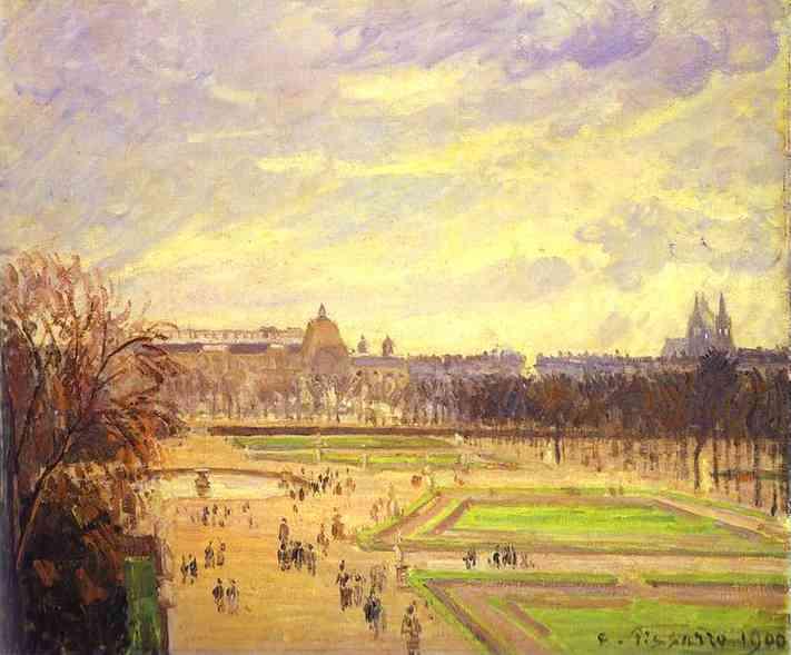 Gardens of Tuileries Camille Pissarro.jpg